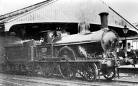 DNR 208 Webb 2-4-0 Improved Precedent