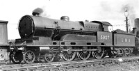 CPA 114 Cooke 4-6-0 Claughton Cheshire. Crewe North steam shed.