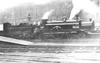 LNWRS 1875 Webb 4-4-0 Alfred the Great.