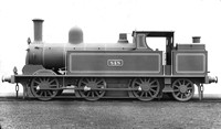LS 83 Webb 0-6-2T Coal Tank