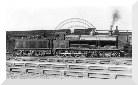DNR 742 Cooke 4-6-0 Prince of Wales.